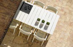 Kos Lacquered Outdoor Furniture  acacia woodkos05