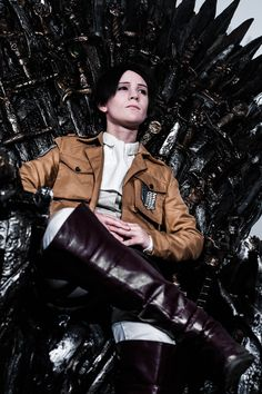 A New Ruler. Eva from Vändetta Cosplay is God. I love her *^*