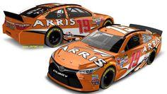 Jayski's® NASCAR Silly Season Site - 2016 NASCAR Sprint Cup Series #19 Paint Schemes