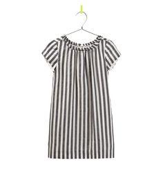 Vertical Stripe Dress   Zara