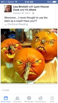 Pumpkin carvings are fun. Get along with your family and friends and carve the best designs ever. Check the gallery for more such pumpkin carving ideas for Halloween. Holidays Halloween, Halloween Crafts, Happy Halloween, Halloween Party, Funny Halloween, Halloween 2018, Halloween Express, Halloween Photos, Halloween Design
