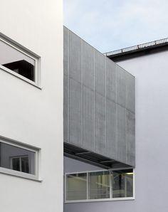 Berschneider + Berschneider, Architekten BDA + Innenarchitekten, Neumarkt: Erweiterung Staatl. Realschule für Knaben (2009)