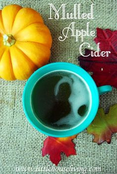 Mulled Apple Cider. The perfect treat for fall. :)