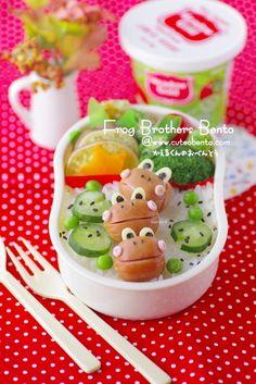 Tons of amazing and cute bento creations on here. Pinning for later use. Bento Kids, Bento Box Lunch, Lunch Snacks, Cute Food, Good Food, Yummy Food, Bento Kawaii, Food Art Bento, Japanese Food Art