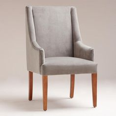 Need comfy chairs if I ever have a place big enough for a dinning room. Just wish the legs were a darker color