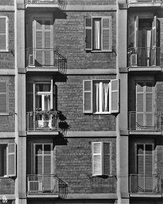 """Mario de Renzi, Saverio Muratori, IL """"BOOMERANG"""" DEL QUARTIERE TUSCOLANO, 1952-1956"""