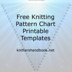 Free Knitting Pattern Chart Printable Templates
