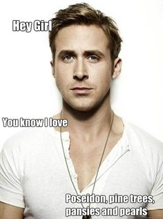 That's right. This is the best Ryan Gosling meme I've seen. He loves a Tri Delta!