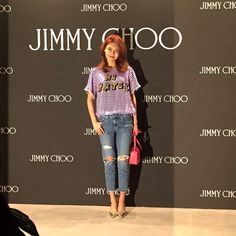 Sooyoung - 150410 Jimmy Choo Flagship Store event
