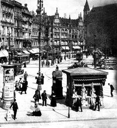 Berlin,Spittelmarkt, Um 1895.                                                                                                                                                                                 Mehr