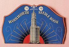 Woolworth needle book