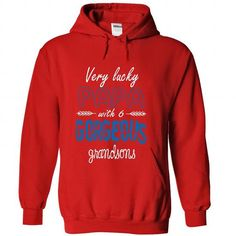 Limited Edition Very lucky Papa with 6 gorgeous grandso - #red hoodie #sweatshirt women. ADD TO CART => https://www.sunfrog.com/No-Category/Limited-Edition-Very-lucky-Papa-with-6-gorgeous-grandsons-Red-28124242-Hoodie.html?68278