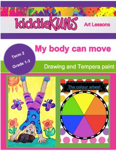 My body in action - Teacha! Mixing Primary Colors, Color Mixing, Body Action, Secondary Color, Color Theory, Colorful Pictures, Life Skills, Art Lessons