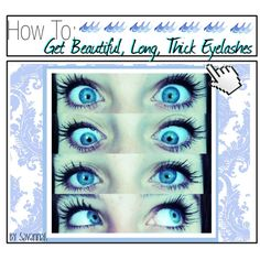 Hey guys it's Savannah and here is a super easy way to get long eyelashes without using fake eyelashes. This will be especially beneficial to people who have sh...