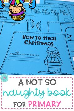 "A fun book to encourage students good behavior on the days leading up to Christmas /  winter break. Full of ideas for a naughty elf or a grouchy grinch to visit the classroom. Kindergarten, first grade and 2nd grade students will enjoy creating their own ""naughty"" advice book."