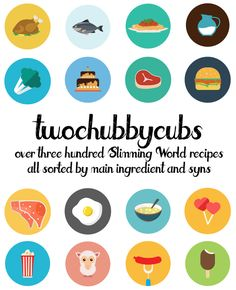 PLEASE LIKE AND SHARE! Over 300 Slimming World friendly recipes from the guys at twochubbycubs - all sorted by their main ingredient! We& got stews, burgers, pizzas, pasta, chicken.all sorts! So many syn-free recipes. It& a completely free Healthy Weight, Healthy Life, Healthy Eating, Healthy Food, Slimmimg World, Slimming World Diet, Fat Fighters, Syn Free, Slimming World Recipes