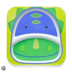 Skip Hop - Zoo divided plate Dino Blue / Green