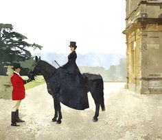 mary-horse-downton-abbey-paint-colors-2