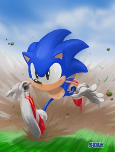 Sonic the Hedgehog! I used to say he was my boyfriend? I was 5