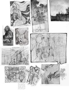 Some sketch pages that i scanned in for the artbook but that didnt make it to the final cut! Loish, Finals, Book Art, Vintage World Maps, Character Design, Sketches, Sunset, Drawings, Blog