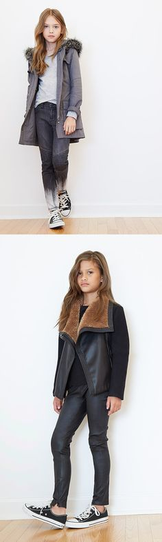 Stay warm and stay fresh in our favorite cold weather styles from Vince Kids.
