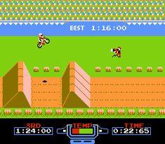 Excitebike - Nintendo NES