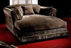 Comfy......Double Chaise Longue - contemporary - day beds and chaises - london - House Couturier Limited