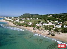 Kilómetros de playa en Caños de Meca, #Cádiz con aguas transparentes y oleaje moderado.  #Andalucía #Spain #verano2015