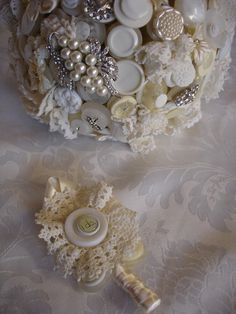 Button bouquet #2