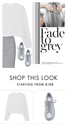 """""""Kaleidoscopic Grey"""" by aaafiaopokuaaddai ❤ liked on Polyvore featuring Acne Studios, adidas, Glamorous, women's clothing, women, female, woman, misses and juniors"""