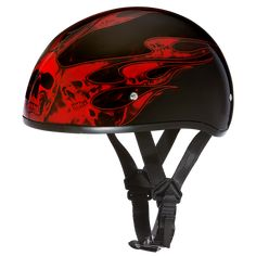 Flat Black /& Blue Skull /& Bone Design Motorcycle Half Helmet DOT Certified XS-2X
