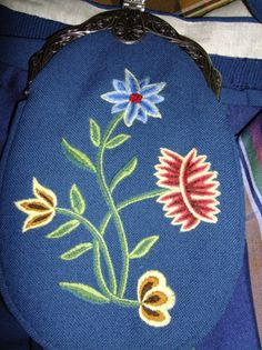 Embroidery on the bunad from Nordland, Norway. Made by Lill Venke Hustvedt