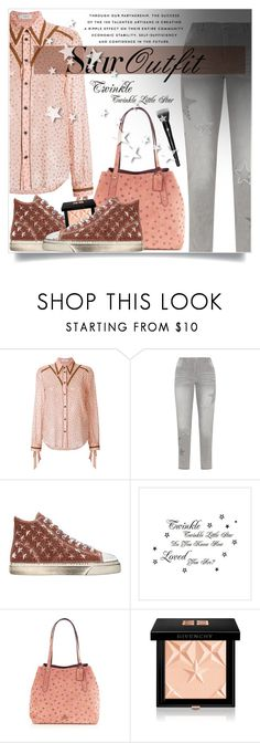 """""""Twinkle, twinkle: Star Outfits"""" by beautifulplace ❤ liked on Polyvore featuring Coach, KJ Brand, GIENCHI, Givenchy, Lancôme, stars and StarOutfits"""