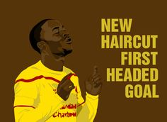 Was a haircut what Raheem Sterling needed to get back to his scoring ways for Liverpool FC. Liverpool Football Club, Liverpool Fc, Premier League Soccer, Raheem Sterling, You'll Never Walk Alone, English Premier League, Fa Cup, New Haircuts, Fangirl