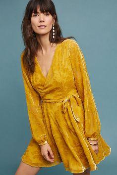40d9fd8215bc Yumi Kim Royalty Velvet Dress. Anthropologie