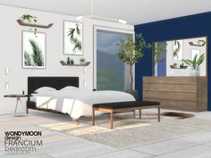 wondymoon's Francium Bedroom
