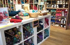 DIY Manchester Fashion - How to Create Your Own Style (Image: Purl City Yarns) Manchester, Bookcase, Create Your Own, Shelves, Yarns, Creative, Diy, Articles, Lifestyle