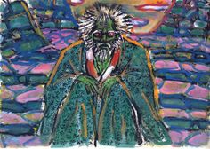 Below are twenty of the paintings Sensei Akira Kurosawa produced in the late period of his career. These paintings are difficult to find on. Japanese Film, Japanese Art, Kurosawa Akira, Storyboard Drawing, Storyboard Film, Renaissance, Film Stills, Cool Artwork, Dreams