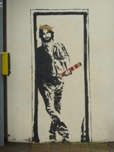 Jo Jones Graffiti Jesus