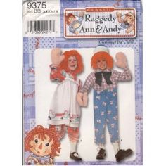 Child Raggedy Ann & Andy Costumes