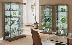 Decoração com Cristaleiras Modernas: Coloridas, Vidro, Fotos                                                                                                                                                                                 Mais