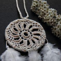 New little dreamcatcher with bead embroidery #dream #freespirit #handcraft #beading #handmadeisbetter