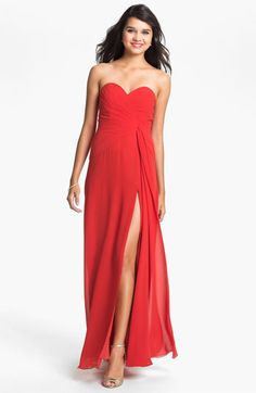 Faviana Sweetheart Chiffon Gown (Online Only) available at #Nordstrom formal