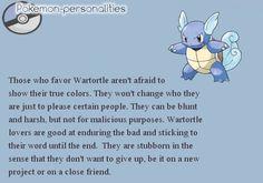 Pokemon Personalities - Wartortle - #008/719.
