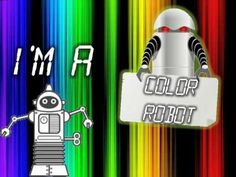 Mr Harry's Kindergarten-Color Robot (kids song about colors) Another favorite :) - Click image to find more hot Pinterest videos
