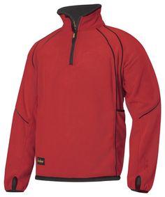 Snickers Workwear 8008 ½ Zip Fleece Jacket, Snickers Fleece