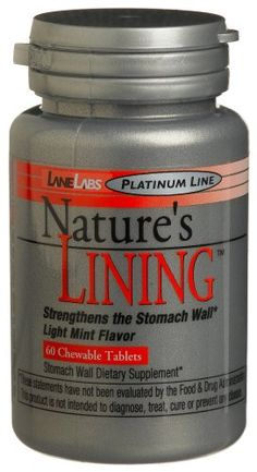 Lane Labs Nature's Lining,60 Chewable tablets, 1.75-Ounce Bottle * Check this awesome product by going to the link at the image.