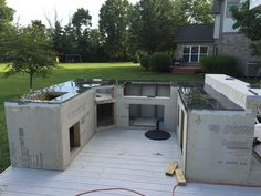 What This Guy With No Experience Built On His Patio Made Me So Jealous