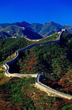 The Great Wall Of China At Badaling China