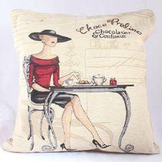 Obliečka na vankúš Praline, cm Throw Pillows, Retro, Toss Pillows, Cushions, Decorative Pillows, Decor Pillows, Retro Illustration, Scatter Cushions